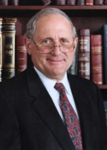 Senator Carl Levin, Chairman of the Arms Services Committee