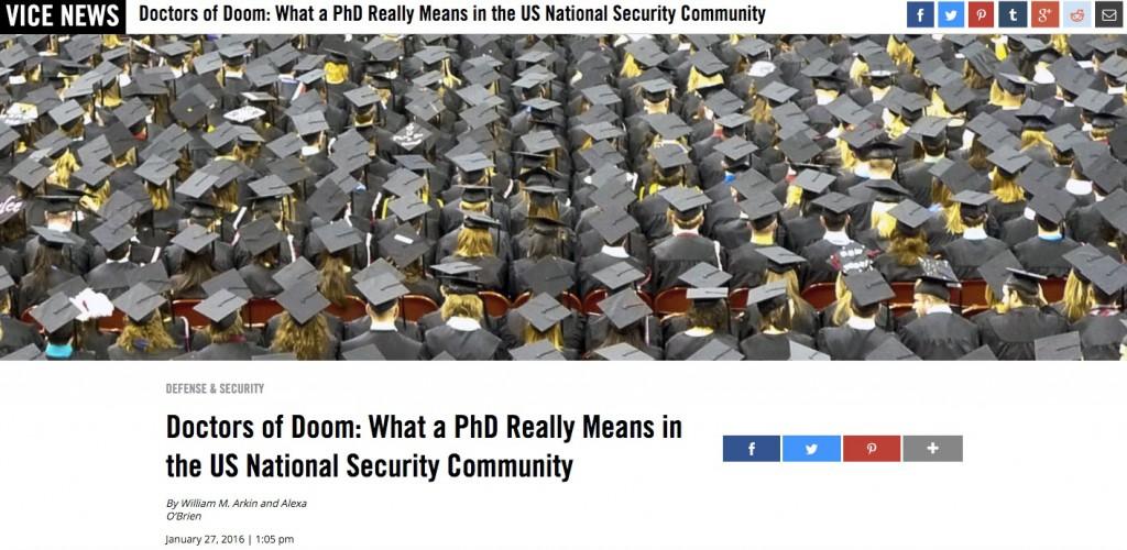 VICE News: Doctors of Doom