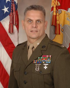 Col. Daniel J. Choike, former Marine Corp Base Quantico Commander