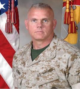 Col. Robert Oltman, Security Battalion Commander, Quantico